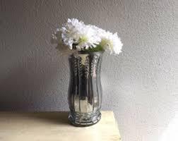 Vase Tall Tall Gold Mercury Glass Vase Tall Mirrored Vase Pink Rose