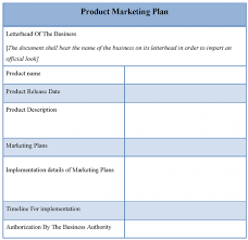 template marketing strategy template