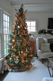 holiday decorating at mi casa the gold crown ornaments were new this year purchased at ikea i like them