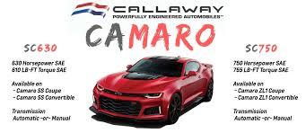 callaway camaro harchelroad motors