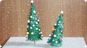 how to make mini tabletop christmas tree 2017 youtube