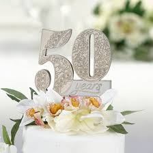 50th wedding anniversary cake toppers 50th anniversary cake topper target