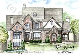 edinburg manor house plan house plans by garrell associates inc