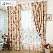 Duck Egg Blue Floral Curtains Online Buy Wholesale Vintage Curtains From China Vintage Curtains