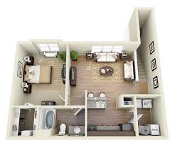 Nice One Bedroom Apartments by One Bedroom Apartment 1 Bedroom Apartmenthouse Plans Pleasant Idea