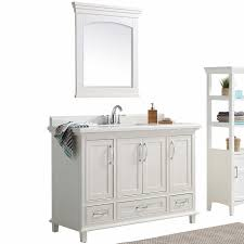 cypress hills 48 in off white davis bathroom vanity