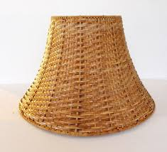 ikea wicker lamp shade never used brown natural rattan rattan