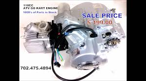 110cc atv go kart engine replacement for tao tao roketa baja kandi