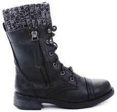 sweater lined foldover combat boots cheap combat boots find combat boots deals on line at