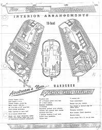 automotive floor plans this rare 1957 airstream wanderer is tiny but awesome