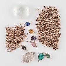 bracelet elastic cord images Bijoux by me moonrock bracelet kit beads gems elastic cord jpg