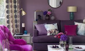 Purple Living Room Furniture Purple Living Room Ideas Ideal Home