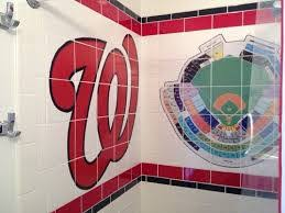 your bathroom a playing field with sports themed bathroom