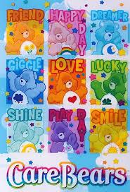 care bears friend bear friend happy