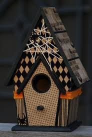 106 best halloween birdhouses images on pinterest halloween