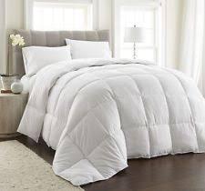 Down Comforter King Oversized Goose Down Duvet Ebay