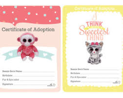 beanie boo checklist instant download 8 10 5 check ty