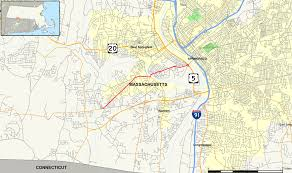 Springfield Map Massachusetts Route 147 Wikipedia
