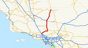 Metrolink Los Angeles Map by California State Route 14 Wikipedia