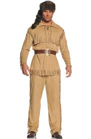 Size Pin Halloween Costumes Frontier Man Size Costume Purecostumes