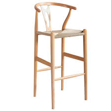 hans wegner replica wishbone bar stool temple u0026 webster