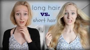 long hair vs short hair youtube