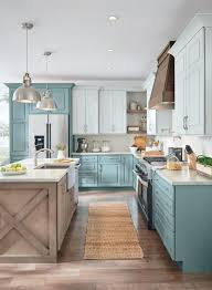 farmhouse style kitchen with oak cabinets the ultimate blue farmhouse kitchen collection the cottage
