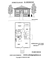 bi level house plans with garage canada