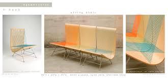 String Chair Egawa Zbryk Portfolio