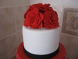 white red and silver wedding cake wedding cake diary of a