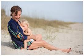 Wilmington Nc Photographers Oak Island Breastfeeding Session Elizabeth Ellen Photography