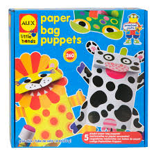 alex toys little hands paper bag puppets alexbrands com