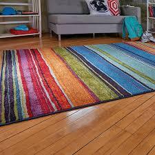 Stripe Area Rug Rainbow Stripe Area Rugs Improvements
