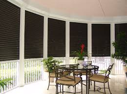 Storm Awnings Integrated Hurricane Shutter Screen U0026 Railing Systems High