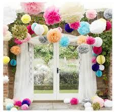 Diy Paper Home Decor by Online Get Cheap Paper Flower Ball Aliexpress Com Alibaba Group