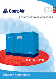 l160 l250 rs compressors compair pdf catalogue technical