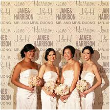 wedding backdrop personalized backgrounds n click photo booth