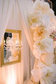 wedding backdrop rentals edmonton gold embroidered organza sashes on white chair covers at the crown