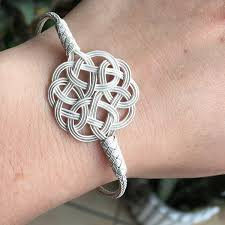 love knot bracelet images Turkish kazaziye love knot pendant handmade 999 sterling silver jpg