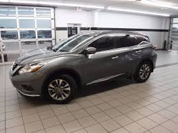 nissan murano aux port 2015 used nissan murano 2wd 4dr sv at landers ford serving little