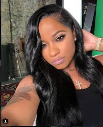 hairstyles for giving birth toya wright shows off fantastic post baby body 12 days after