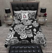 skull duvet covers canada home design ideas