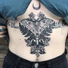 underboob tattoos u0026 under breast tattoo design ideas