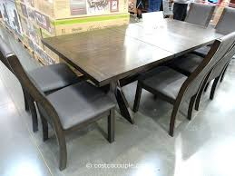 costco dining room sets canada chairs table square costcoca set