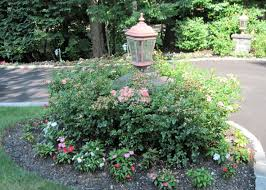 l post ideas landscaping light post landscaping ideas driveway entrance landscaping w some