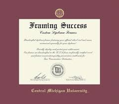of michigan diploma frame custom diploma frames certificate frames framing success