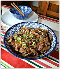 cuisine chinoise boeuf aux oignons un dimanche a la cagne bœuf sauté aux oignons recette locale