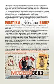 gloss magazine article by scott mcgillivray modern bear press