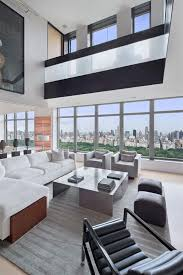 Penthouse Interior Elegant And Modern Duplex Penthouse