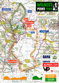 Map Run Route by Route Description Peak District Trail Running Dark U0026 White Events